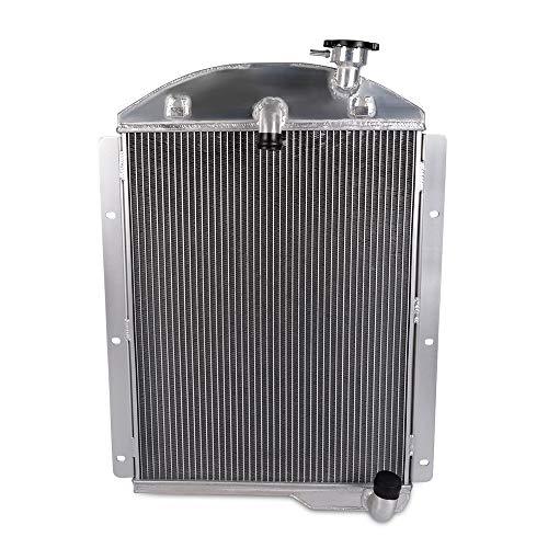 (High Performance Aluminum Racing Radiator For 1941-1946 Chevy Chevrolet Pickup Truck BL BN V8)