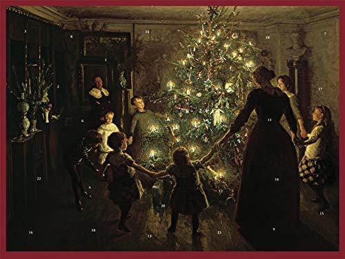 Adventskalender, Weihnachtsabend