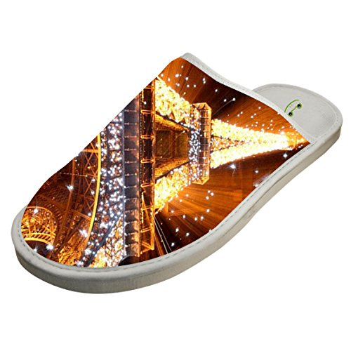 Cotton The Brightly Lit Paris House Slippers Baboosh Chinela Slipper