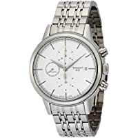 Tissot Carson Chronograph Automatic Men's Watch (Silver)