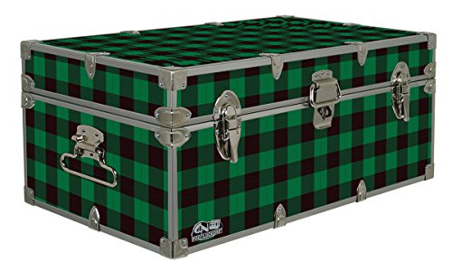 Cottage & Cabin Storage Trunk - 14 Themed Footlockers - 32 x 18 x 13.5 -