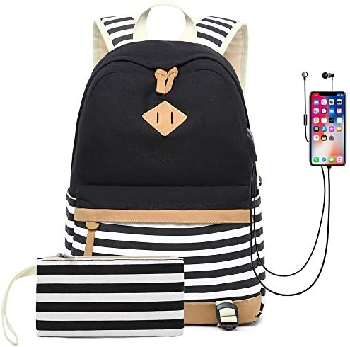 Waterproof Backpack College Charging Daypack product image