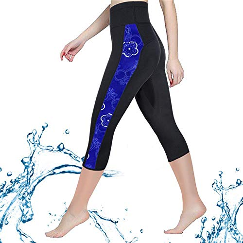 Paddling Suit (CtriLady Women Neoprene Wetsuit Pants 2.5mm Keep Warm Legging Swimming Diving Snorkeling Surfing (Black, Small))