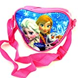 Designer bag 'Frozen - Reine Des Neiges'blue pink (heart).
