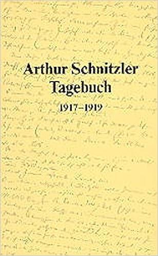 Book Tagebuch, 1917-1919