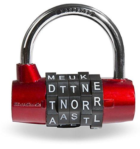 Wordlock, Inc Padlock,Combination Dial Word
