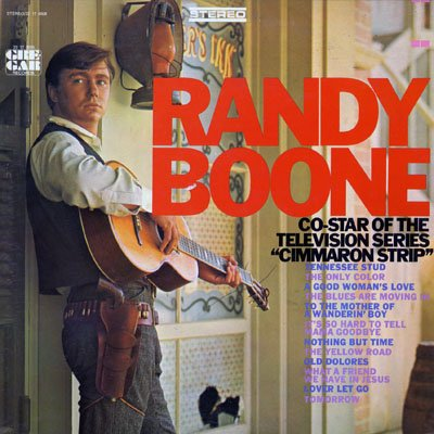 Randy Boone: Co-Star of the Television Series
