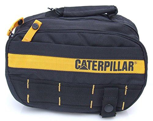 Caterpillar - Cartera de mano para hombre Negro Black/Ywllow: Amazon.es: Zapatos y complementos