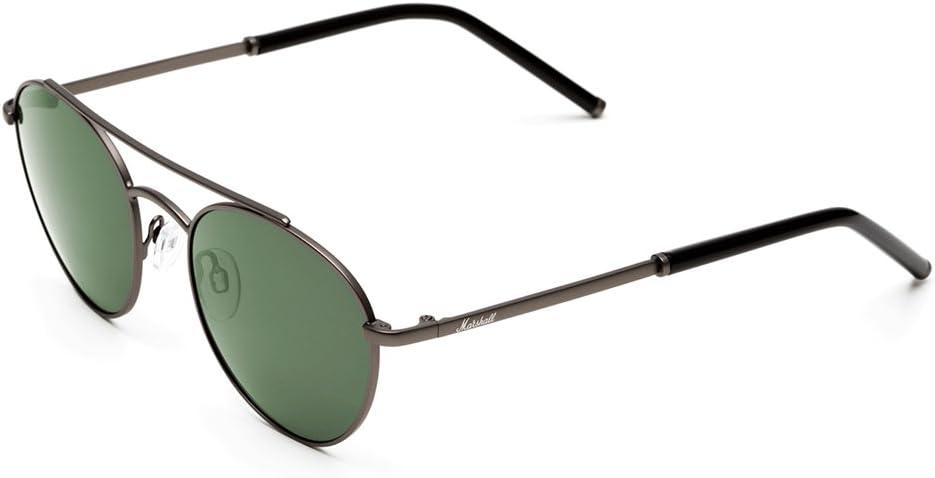 MARSHALL EYEWEAR Hombre Gafas de Sol Joey Gun, Gun/Green: Amazon ...