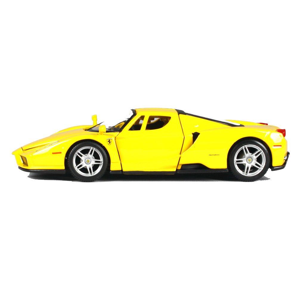 Penao Modelo del Coche de la Aleación de la Simulación de Enzo Ferrari, Ornamentos del Coche Modelo, Modelos, Adornos de Coche, Relación 1:24