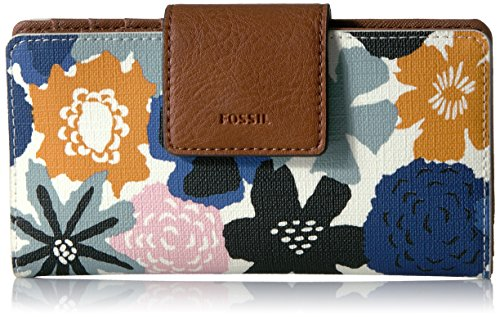 Emma Rfid Tab Wallet-navy Floral Wallet, Navy Floral, One Size