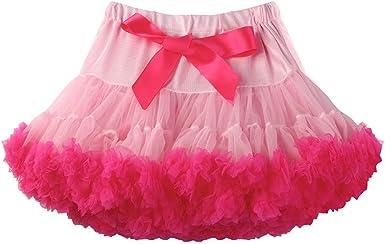 Koolee Faldas tutú de Baile de Color sólido para Mujer ...