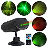 Party Lights Star Shower GOOLIGHT Sound Activated DJ Disco Light with Remote Control