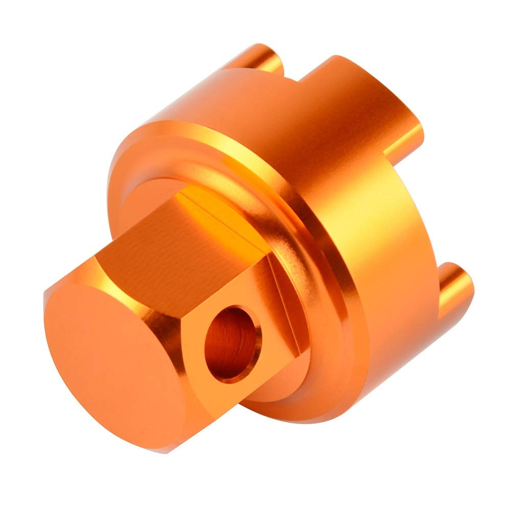 Color : Orange Rimozione forcella anteriore WP Compression Valve strumento for KTM SX SXF XC XCF 125 200 250 300 350 400 450 2017 2018 Fork Cap Puller Strumenti