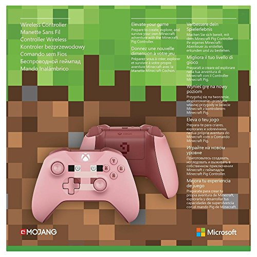 Official Xbox Wireless Minecraft Pig Controller