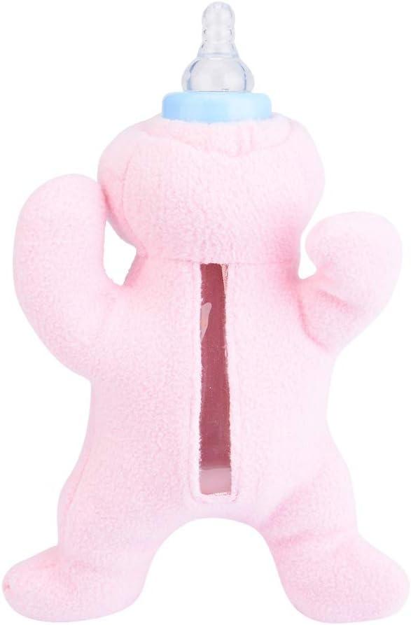 Cafopgrill Tierbaby-Saugflasche Isolierung Thermof/ütterungsbeutel Lebensmittelbeutel Aufbewahrungsh/ülle Milch Weiches Pl/üsch Warmhalten Baby Thermohalter Krankenschwester