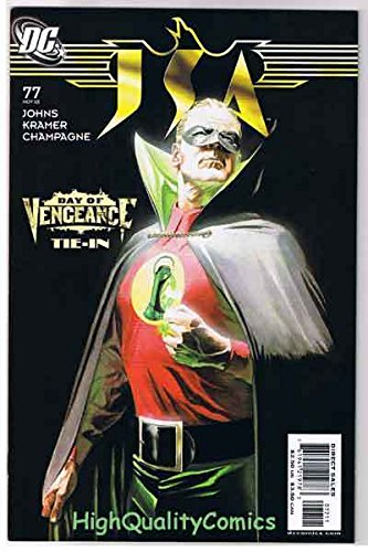 JSA #77, NM, Alex Ross, Green Lantern, Vengeance, 1999, more in store