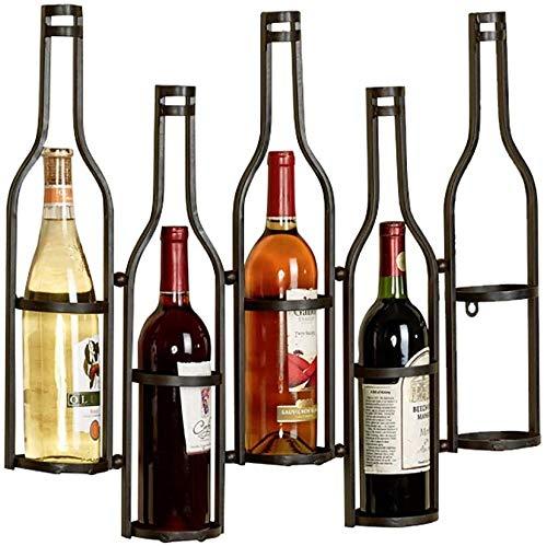 Tsdhjk Estante del Vino Colgar de la Pared del Vidrio de Vino ...
