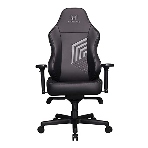 VICTORAGE Echo VE Series PU Leather Computer Gaming Chair Black