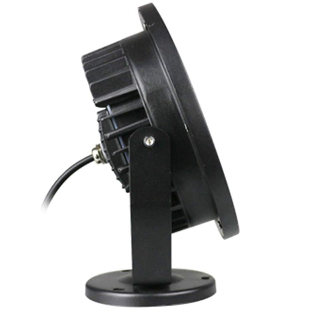 LIGHTZHAO Proiettore, Guidato All'aperto Paesaggio Giardino Villa Terrazza Prato Impermeabile Riflettore IP65 60 ° (colore   Luce Bianca Calda, Dimensioni   24W)