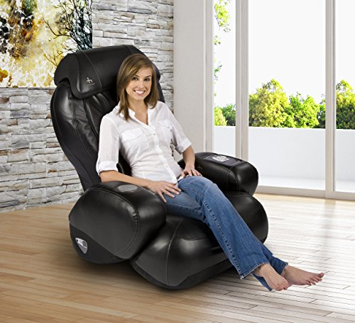 iJoy-2580 Premium Robotic Massage Chair | Cup Holder | Auxiliary Power Outlet | Full Recline | Black Color Option by Human Touch (Image #8)