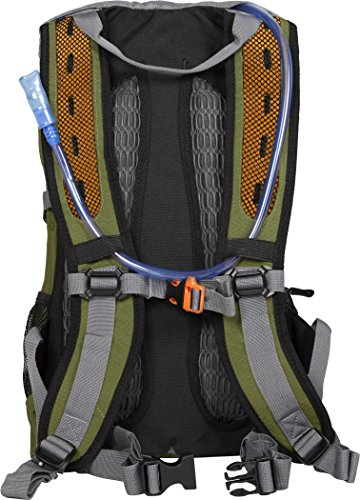 TETON Sports Oasis 1100 Hydration Pack | Free 2-Liter Hydration Bladder | Backpack design great for Hiking, Running, Cycling, and Climbing 4 SATISFY YOUR THIRST FOR ADVENTURE: Lightweight and comfortable; This hydration pack is a terrific companion for all your day-long or overnight hydration needs; Size 1100 Cubic Inches (18 L) FREE HYDRATION BLADDER: BPA free, 2-liter hydration bladder; Durable, kink-free sip tube and innovative push-lock cushioned bite valve; Large 2-inch (5cm) opening for ice and easy cleaning CUSTOMIZABLE COMFORT: Backpack for men, women, and youth; Adjusts to fit all frames comfortably; Notched foam stabilizer and mesh covering means you can wear this pack for hours