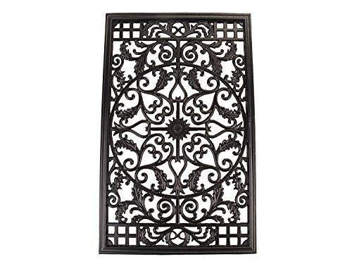 Nuvo Iron Rectangular Decorative Insert For Fencing, Gates, Home, Garden, ACW61 by NUVO IRON