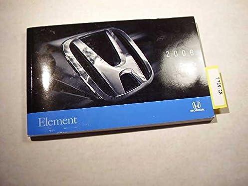 2006 honda element owners manual honda amazon com books rh amazon com 2005 Honda Element 2004 Honda Element