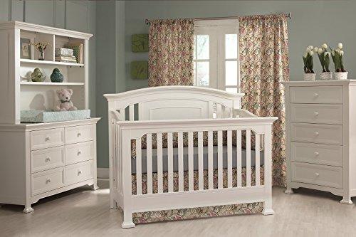 Centennial Medford 4-in-1 Convertible Crib White from Munire