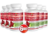 Cayenne and garlic capsules - HAWTHORN EXTRACT - helpful for weight loss (6 bottles)