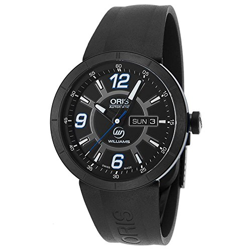 Oris 0173576514765-0742506B Men's Tt1 Williams F1 Team Automatic Black Rubber And Dial Watch