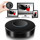 Innens Wifi Wireless HDMI and AV Dual Display Dongle Receiver, Full HD 1080P Display Adapter with Breathing Light, Supports Miracast/Airplay/DLNA for iOS/Android/Mac/Win8.1+