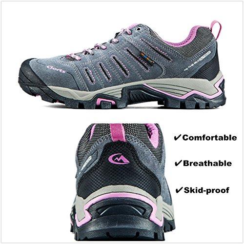 Suede 6270622 Outdoor Clorts Shoe Women's Waterproof Shoes Grey Hiking Backpacking Ax1wq