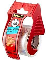 Scotch E5020D verpakkingstape in handafroller, 20 m x 50 mm, transparant
