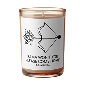 Rama Won't You Please Come Home by D.S. & Durga Candle