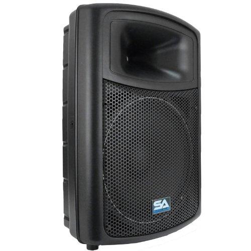 Seismic Audio - NPS-15 - Pro Audio PA DJ 15'' Speakers - Lightweight Molded Cabinets  - 350 Watts by Seismic Audio