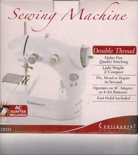 Portable Mini 2-speed Sewing Machine