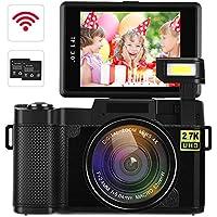 Digital Video Camcorder DIWUER 2.7K Ultra HD WiFi...