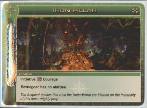 IRON PILLAR Chaotic Premium Edition Season 1 Super Rare Gold Foil Card & Unused Code (Random Stats)