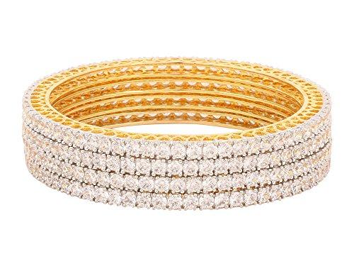 swasti-jewels-american-diamond-aaa-grade-cz-fashion-jewelry-4-piece-bangles-28-inches-for-women