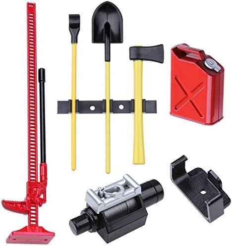 Rc Crawler 1:10 Accessories Metal Shovel For Rc Scx10 D90 Crawler Car Tool K0
