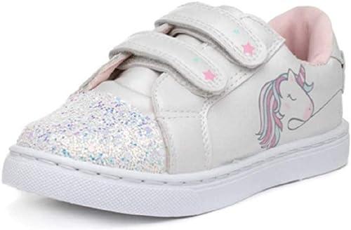 Girls Unicorn White Glitter Jogging
