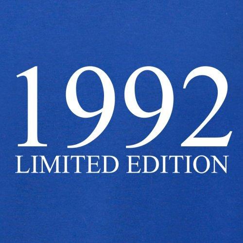 1992 Limierte Auflage / Limited Edition - 25. Geburtstag - Herren T-Shirt - Royalblau - L