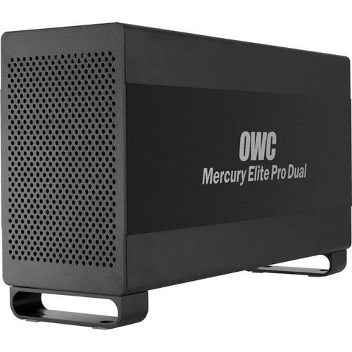 OWC / Other World Computing 2.0TB (1.0TB+1.0TB) Mercury Elite Pro RAID Dual Drive with 64MB Total Cache, 7200 RPM, Thunderbolt/USB 3.0 by OWC