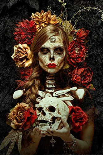 Flores de la Muerte by Daveed Benito Mural Giant Poster 36x54 inch for $<!--$19.98-->