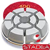 concrete granite floor polishing pads - Grit 400 By Stadea