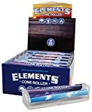 Elements Ultra Thin Rice Rolling Paper Machine - King Size Cone Roller (12 Pack Display Box)