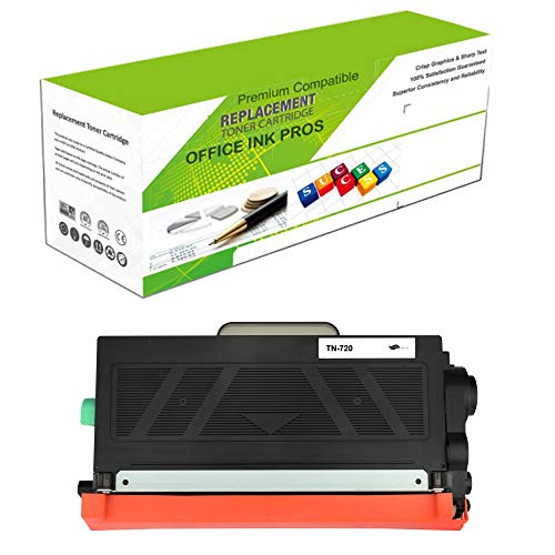 (Premium Ink&Toner | Re-Manufactured Toner Cartridge Replacement for TN-720 - Standard Yield Laser Printer Cartridge Compatible with Brother )