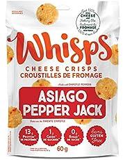 Whisps Cheese Crisps Asiago Pepper Jack, 60Grams