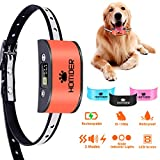 Homder Anti Dog Bark Collar Bark Control Collar No Bark Collar with SoundVibrationHarmless Shock, No Bark Training Collars for Small Medium Large Dog of 10-110lbs 7 Sensitivity Levels,Waterproof